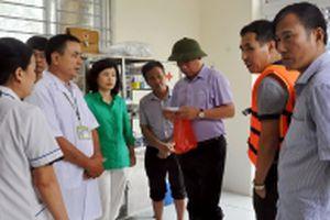Chủ động phòng, chống dịch bệnh vùng bị thiên tai