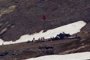 Máy bay rơi tại Thụy Sĩ, 20 người thiệt mạng