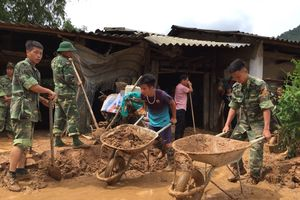 Huy động lực lượng khắc phục hậu quả lũ quét ở xã Trường Hà