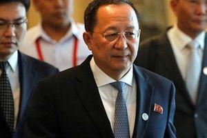 Lệnh cấm vận không được dỡ bỏ, Triều Tiên chỉ trích Mỹ 'nuốt lời' ở Singapore