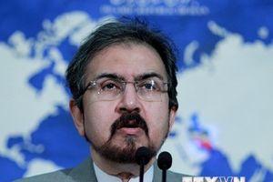 Iran tuyên bố sẽ không đàm phán với Mỹ nếu bị gây sức ép