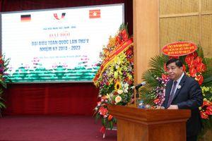 Bộ trưởng Nguyễn Chí Dũng được tín nhiệm bầu làm Chủ tịch Hội hữu nghị Việt Nam - Đức nhiệm kỳ 2018 - 2023
