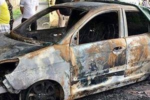 Thông tin về vụ cháy xe ô tô bất thường của cán bộ CSGT