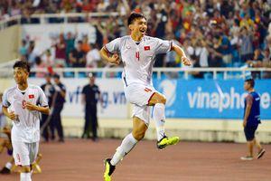 Văn Hậu ghi siêu phẩm, Olympic Việt Nam đánh bại Olympic Oman