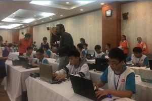 49 học sinh trung học, tiểu học có cơ hội thi rô bốt STEM ở Thái Lan