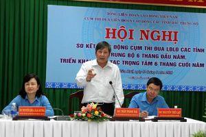 Cụm thi đua LĐLĐ các tỉnh Bắc Trung Bộ: Ký giao ước thi đua, cam kết mang lại lợi ích bổ sung cho đoàn viên công đoàn