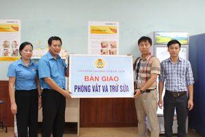 LĐLĐ tỉnh Bắc Ninh: Lắp đặt phòng vắt và trữ sữa cho nữ CNLĐ nuôi con nhỏ