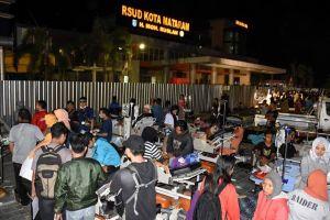 Động đất 7 độ richter gây cảnh báo sóng thần ở Indonesia, 82 người chết