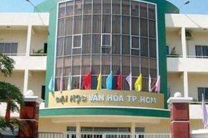 Điểm chuẩn Đại học Văn hóa TPHCM cao nhất 21,25 điểm