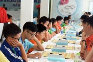 Gần 270 kỳ thủ dự Giải vô địch cờ tướng trẻ toàn quốc