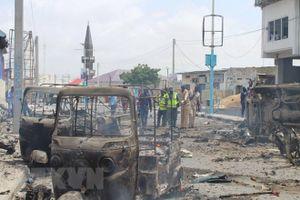 Đánh bom liều chết tại thủ đô của Somalia gây nhiều thương vong