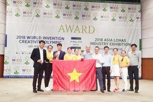 Đoàn học sinh Việt Nam đạt thành tích cao tại WICO 2018