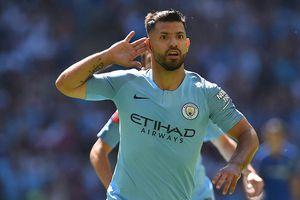 Aguero lập cú đúp, Man City đánh bại Chelsea giành siêu cúp Anh