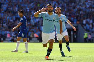 Thắng dễ Chelsea, Man City lần thứ 5 đoạt Siêu cúp Anh