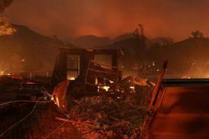 Cháy rừng lan rộng ở California