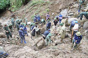 12 người chết, mất tích do mưa lũ, sạt lở Lai Châu