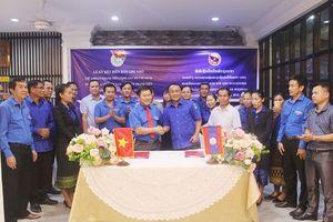Gặp gỡ hữu nghị thanh niên 2 tỉnh Quảng Trị - Savannakhet