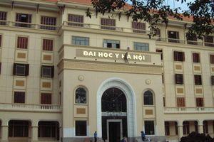 Điểm chuẩn chính thức của Đại học Y Hà Nội