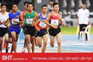 Hà Tĩnh giành 5 huy chương Giải vô địch Điền kinh trẻ quốc gia