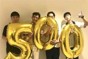 Dàn sao 'Thử thách thần chết: Giữa hai thế giới' ăn mừng phim đạt kỉ lục lịch sử phim Hàn