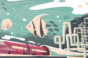 Trung Quốc sắp có hầm đường sắt dưới biển dài nhất thế giới