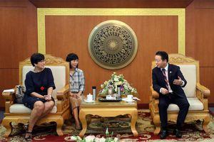 Bộ trưởng Trần Hồng Hà tiếp Đại sứ Vương quốc Bỉ tại Việt Nam