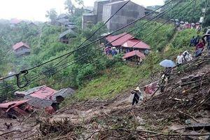 Mưa lũ, sạt lở đất kinh hoàng tại Lai Châu, số người thương vong gia tăng
