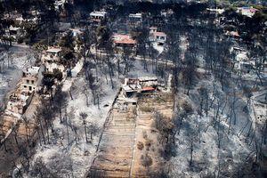Hy Lạp sa thải hai quan chức liên quan đến thảm họa cháy rừng