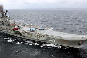 Nga nâng cấp tàu sân bay duy nhất để chở được MiG thế hệ 4++
