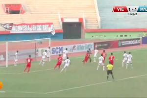 Video trực tiếp U16 Việt Nam vs U16 Myanmar giải U16 Đông Nam Á 2018
