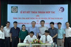Ký kết thỏa thuận hợp tác giữa Trung tâm CNTT và Trường Đại học Công nghệ, Đại học Quốc gia Hà Nội