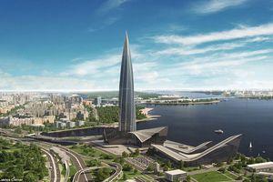 Tháp Lakhta tại Nga sẽ phá vỡ kỷ lục tòa nhà cao nhất châu Âu