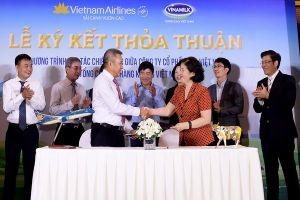 Vietnam Airlines và Vinamilk hợp tác chiến lược
