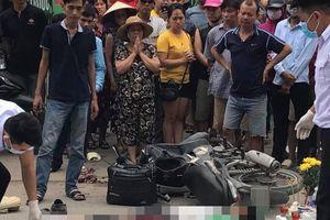 Nam tài xế GrabBike bị xe đầu kéo cán tử vong khi ngã ra đường