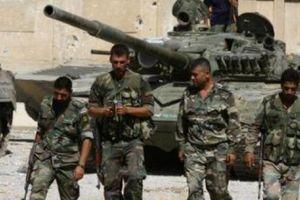 Quân đội Syria đè bẹp cuộc tấn công dữ dội của khủng bố ở Hama