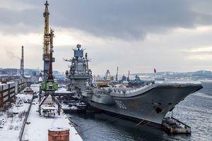 Nga nâng cấp tàu sân bay 'Đô đốc Kuznetsov'