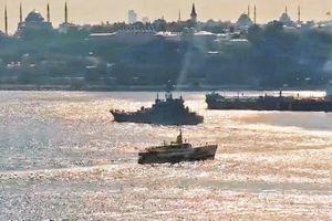 Nga tiếp tục chở xe tăng, xe quân sự tiếp sức cho Syria