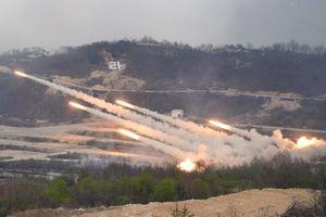 Hàn, Mỹ lập đơn vị đối phó pháo binh Triều Tiên