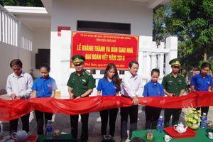 Khánh thành nhà 'Đại đoàn kết' cho hộ dân ở địa bàn Đồn Biên phòng Vinh Xuân