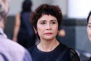 NSND Minh Châu nghẹn ngào nói về NSƯT Bùi Cường tại lễ tang