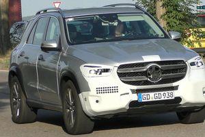 Mercedes-Benz GLE 2019 lộ diện trên đường phố Đức