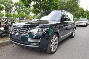 SUV sang Range Rover màu độc xuất hiện trên đường phố Hà Nội
