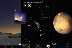 Khám phá vũ trụ qua 6 ứng dụng thú vị