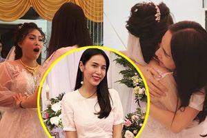 Fan 14 năm bật khóc khi Thủy Tiên bất ngờ đến dự đám cưới
