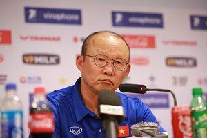 HLV Park Hang Seo: 'U23 Việt Nam quyết tâm đứng đầu bảng tại Asiad'
