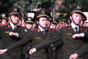 11/23 thí sinh Lạng Sơn trúng tuyển Học viện An ninh là chiến sĩ CSCĐ?