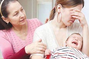 Sau sinh một tuần, 70% phụ nữ gặp hội chứng nguy hiểm này