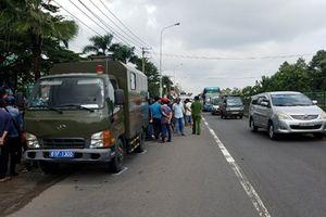 Xe chở tù nhân tông xe máy, một người tử vong tại chỗ