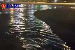 Đà Nẵng: Phát hiện dự án Kim Long Nam xả thải trực tiếp ra môi trường biển