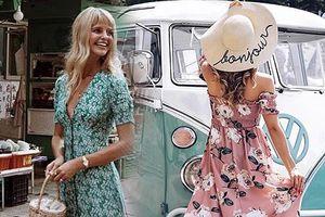 10 kiểu váy nhẹ nhàng cho bạn gái xuống phố ngày thu